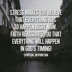 Stress vs. Faith #faith #quotes #god via Laugh.Liv.Love blog http://laughlivlove.com/stess-vs-faith/