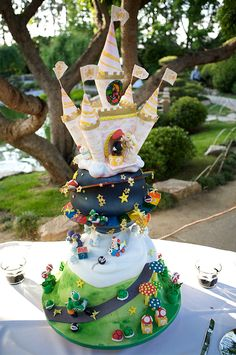 I was looking online for pics of a Mario Kart cake for my son's birthday & found this website.  Awesome cakes, but we're just looking for a flat sheet cake with decoration.