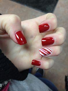 My holiday nails!