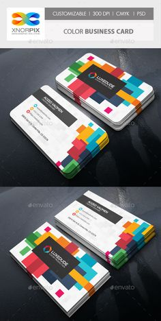 #Color #Business #Card - Corporate Business Cards