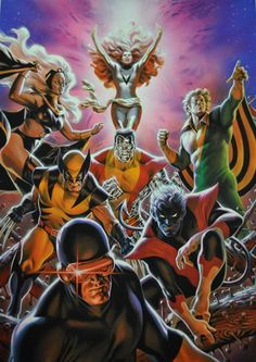 The Uncanny X-Men (1977-1979 classic line-up) by Felipe Massafera *