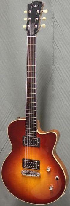 Grellier Guitars Heartbreaker - made in Chemere, France