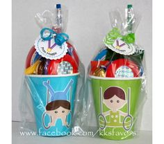 Boys Gymnastics Party Favors by KK's Favors #kksfavors #gymnasticsfavors…