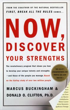 10 Books Every Aspiring Manager Should Read: Now Discover Your Strenghts