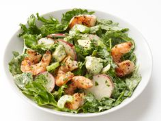 Shrimp and Avocado Salad recipe from Food Network Kitchen via Food Network