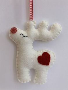 Most up-to-date Free of Charge Christmas Rudolph – Felt Decoration - christmas dekoration Strategies Analysts discovered that Christmas woods and merry food can cause fevers and sensitivity responses Felt Christmas Decorations, Felt Christmas Ornaments, Noel Christmas, Homemade Christmas, Winter Christmas, Rudolph Christmas, Tree Decorations, Christmas Projects, Holiday Crafts