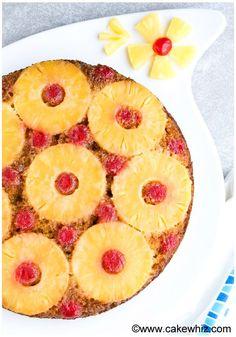 Really nice recipes. Every hour. — Homemade Pineapple Upside Down Cake  Recipe:...
