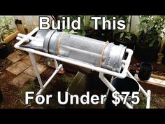 How To Build a Worm Casting Compost Sifter - YouTube