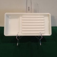 Milk Glass Dental Tool Tray, Made By American Cabinet Company, Vintage, Organizer, Collectibles, Tool Diaplay, Home Decor, Crafters Display by Sunshineoftreasures on Etsy