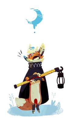 A time for wishes and moon' Fox Illustration, Illustrations, Character Illustration, Fox Character, Character Concept, Concept Art, Animal Design, Fox Design, Fox Art