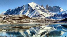 Nieve en el Parque Nacional Torres del Paine