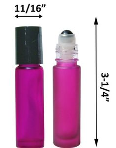 Amazon.com: Essential Oil Bottles for Roll On Blending of Oils. When you pick the Purple E4U Glass Roller Bottle you have the ideal 10ml refillable perfume bottles. Easy to fill Glass bottles for Aromatherapy.: Health & Personal Care