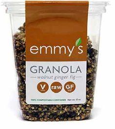 Emmy's Ogranics Walnut Fig Raw Gluten-Free Granola