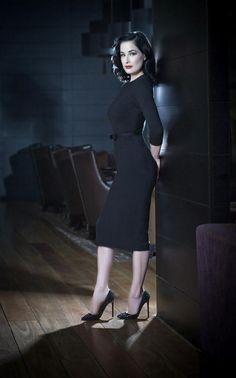 Dita Von Teese - I love her retro 40s/ 50s style. She always looks amazingly classy and elegant
