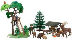 playmobil forest