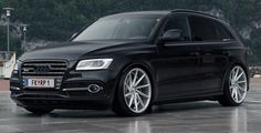 full-black-audi-sq5-on-vossen-vvs-cvt-01 - Supercharged Audi Tt S, Audi Q7, Automobile, Lamborghini, Black Audi, Luxury Suv, Top Cars, Custom Cars, Cars And Motorcycles