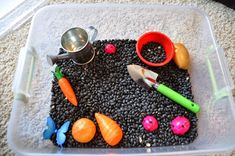 Related image Planting Flowers From Seeds, Therapeutic Horseback Riding, Sensory Bins, Sensory Play, Teaching Tips, Life Cycles, Preschool Activities, How To Memorize Things, Plants
