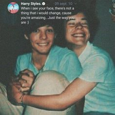 Larry Shippers, Louis And Harry, The Way You Are, Larry Stylinson, Best Couple, My Boys, Harry Styles, Love Him, Have Fun