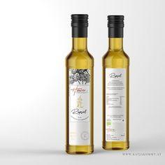 """Packaging Design """"Hauser Organics"""" © KATJA KOMMT - AGENTUR FÜR BESSERE KOMMUNIKATION Organic, Wine, Drinks, Bottle, Design, Communication, Drinking, Beverages, Flask"""