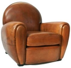 art deco chairs | Art deco 1 : the authentic club chair