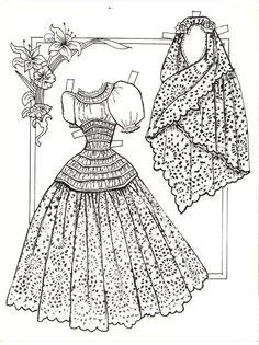 Ramona: a story of Old California by Helen Hunt Jackson; paper dolls by Betty J Rolenz, 1991 | gabipaperdolls.blog