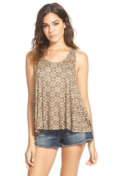 Painted Threads Print Swing Tank (Juniors) available at #Nordstrom