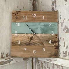 IMG 8128 600x600 Reclaimed Pallet Clocks in pallet home decor  with wood Reclaimed Pallets