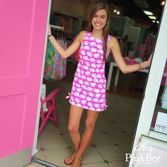 Lilly Pulitzer Pink Bee West End - Google+ Delia Tusk in Sun