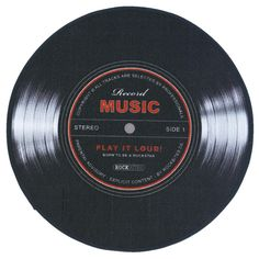 Record Music Matto 100cm • EMP.fi