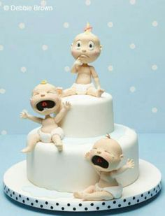 Baby Shower idea cake