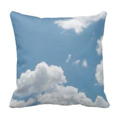 Cloud Pillow 6 I could see several of these great cloud pillows on a couch or a bed.