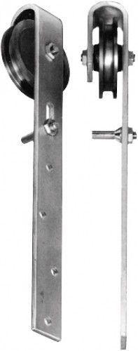 Rouleau-de-porte-coulissante-zu-Portes-en-bois-Bockrolle-zingue-90mm-Semblait