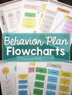Behavior Plan Flowcharts & Tools Create effective behavior plans with this all encompassing resource. Classroom Behavior, Autism Classroom, Classroom Management, Classroom Decor, Autism Behavior Management, Behavior Tracking, Behavior Analyst, Behavior Plans, Behavior Charts