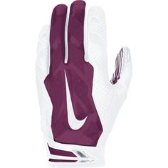 fb9d96e1000 Nike Vapor Jet 3.0 Men s Receiver Gloves - White Maroon Football Gloves