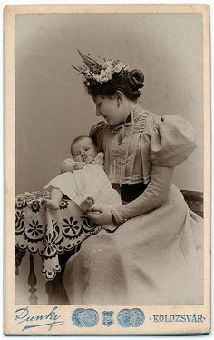 Mother and child, c. 1890s.