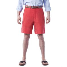 Island red men's shorts by Castaway.