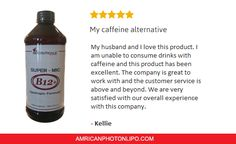 #SuperMICB12+ review by one of our satisfied clients. This powerful physician formulated-pharmaceutical strength product boosts your body's ability to sculpt and refresh by synergistically aiding its ability to utilize and eliminate fat.  This product will also help you look and feel better over-all.   Click here to get yours now http://aplcbodysculpting.com/collections/supplements/products/super-mic-b12