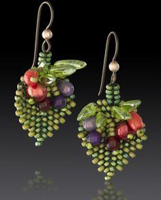 Fiori earrings from Julie Powell Designs