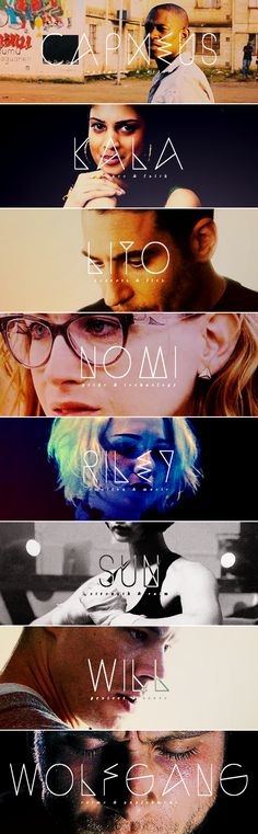 the cluster #sense8