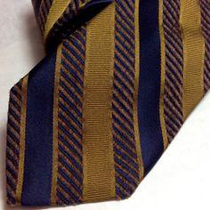 Gentleman Joe Black /& Silver Striped Tie Multicolored