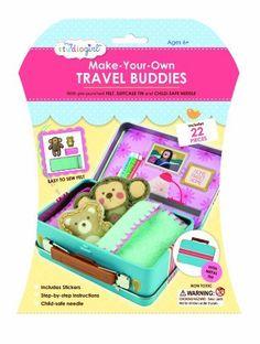 My Studio Girl Travel Buddies Monkey Kit, Child, Play, Newborn, Game, Toy: Amazon.co.uk: Toys & Games