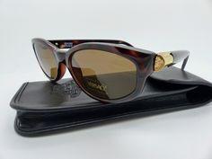 6b3179e34cb Genuine Rare Vintage Gianni Versace Sunglasses Mod. 614 M Col. 900 New Old