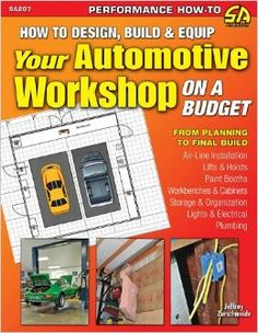 Nama : How to Design, Build & Equip Your Auto Workshop on a Budget (SA Design) Merk : - Tipe : - Status : Siap Berat Kirim : 1 kg Existing books on garage and workshop space are either oriented towards the lightest-duty automotive enthusiast or assume an effectively unlimited budget. The vast majority of enthusiasts want to spend their money on tools and parts yet need heavier-duty capabilities from their garage.