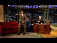 Check out Nick Offerman Break Dances @ 2:40 (Time)