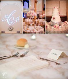 hydrangea, roses, blush and ivory wedding #fleurtaciousdesigns -Elario Photography