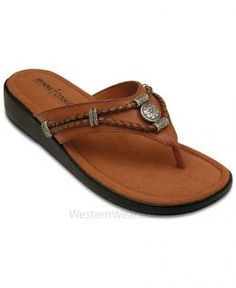 c93a609231a0 Women s Silverthorne Wedge Sandals by Minnetonka Flip Flop Sandals