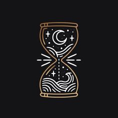 Enjoyed working on this little commissioned piece ⌛️Looking to schedule in some new projects for next month too so nows your chance! ✌️ by liamashurst Change to earth and sky Line Art, Image Princesse Disney, Design Art, Logo Design, Graphic Design Inspiration, Doodle Art, Small Tattoos, Body Art, Art Drawings