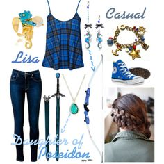 """Poseidon"" by daughter-of-artemis-real on Polyvore"