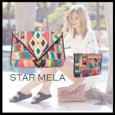 STAR MELA クラッチバッグ トレンドのBOHOスタイルに☆Star Mela 2016SS クラッチバッグ!