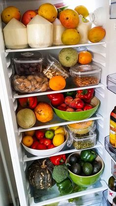 51 ideas fridge organization ideas refrigerators cleanses for 2019 Healthy Fridge, Healthy Smoothie, Healthy Snacks, Raw Food Recipes, Healthy Recipes, Snacks Saludables, Food Is Fuel, Food Goals, Aesthetic Food